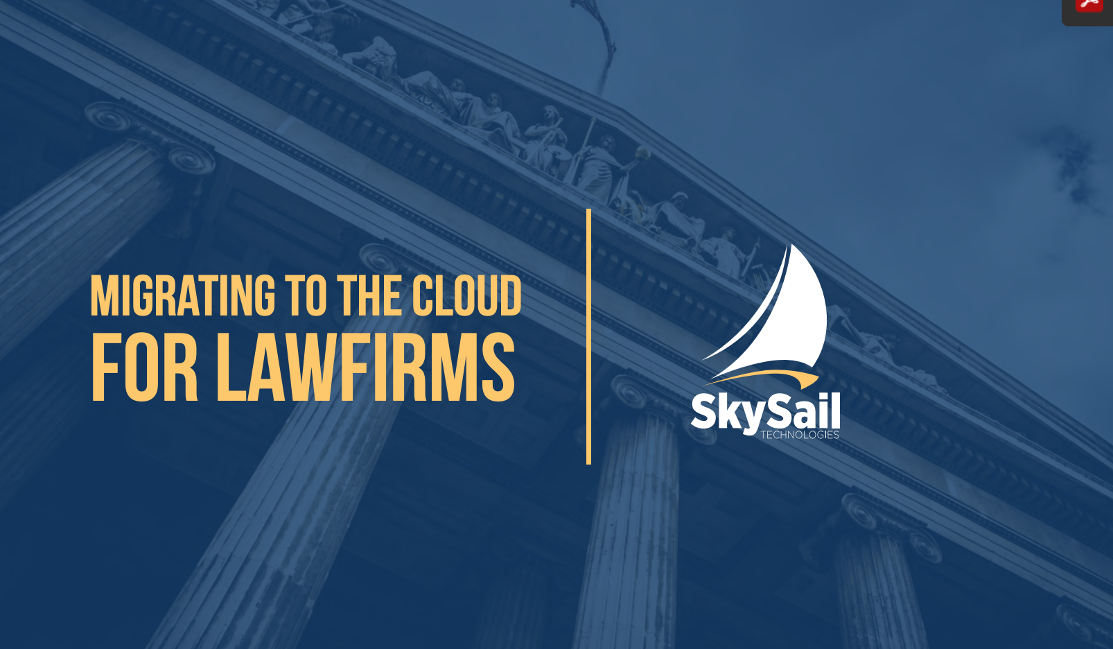 Guide to Cloud Technology and Cloud Services for Law Firms